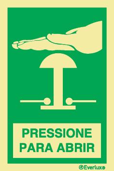 Pressione para abrir