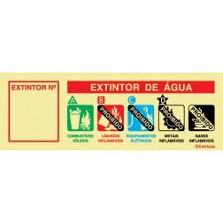 AGENTE EXTINTOR ÁGUA