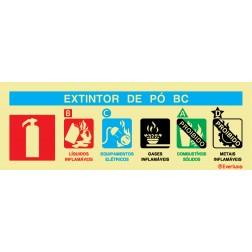 AGENTE EXTINTOR PÓ BC