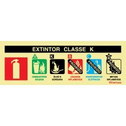 AGENTE EXTINTOR CLASSE K