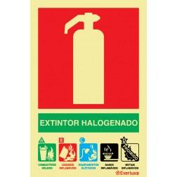 EXTINTOR COM AGENTE HALOGENADO