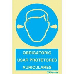 OBRIGATÓRIO USAR PROTETORES AURICULARES