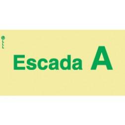 ESCADA A - POLICARBONATO ADESIVO