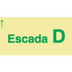 ESCADA D - POLICARBONATO ADESIVO