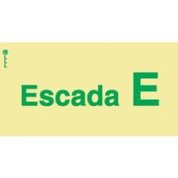 ESCADA E - POLICARBONATO ADESIVO