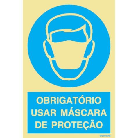 OBRIGATÓRIO USAR MÁSCARAS DE PROTEÇÃO