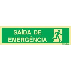 SAÍDA DE EMERGÊNCIA À DIREITA
