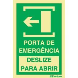 ABERTURA DE PORTA DE EMERGÊNCIA
