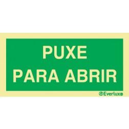 PUXE PARA ABRIR