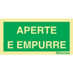 APERTE E EMPURRE