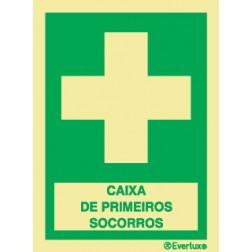 CAIXA DE PRIMEIROS SOCORROS