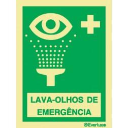 LAVA-OLHOS DE EMERGÊNCIA