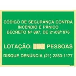 LOTAÇÃO MÁXIMA PARA ESTADO DO RJ