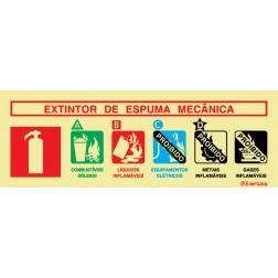 AGENTE EXTINTOR ESPUMA MECÂNICA