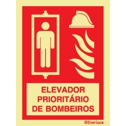 ELEVADOR PRIORITÁRIO DE BOMBEIROS