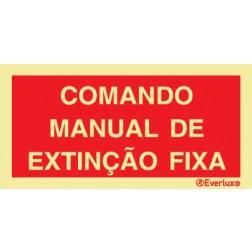 COMANDO MANUAL DE EXTINÇÃO FIXA