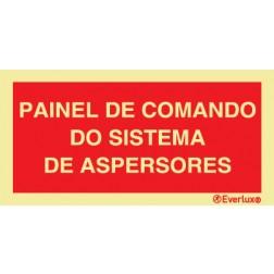 PAINEL DO COMANDO DO SISTEMA DE ASPERSORES