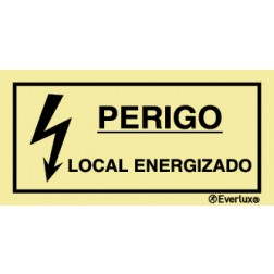 PERIGO LOCAL ENERGIZADO
