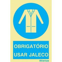 OBRIGATÓRIO USAR JALECO