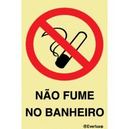 NÃO FUME NO BANNHEIRO