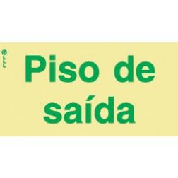 PISO DE SAÍDA - POLICARBONATO ADESIVO