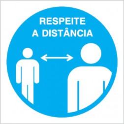 DEMARCAÇÃO DE DISTÂNCIA DE SEGURANÇA